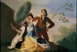 The Parasol | Francisco de Goya y Lucientes | Oil Painting