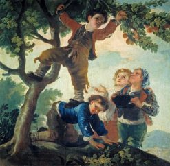 Boys Picking Fruit | Francisco de Goya y Lucientes | Oil Painting
