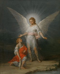 Tobias and the Angel | Francisco de Goya y Lucientes | Oil Painting
