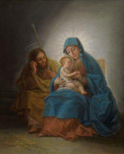 The Holy Family (La Sagrada Familia) | Francisco de Goya y Lucientes | Oil Painting