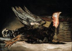 A Dead Turkey | Francisco de Goya y Lucientes | Oil Painting