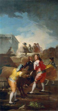 The Bullfight | Francisco de Goya y Lucientes | Oil Painting