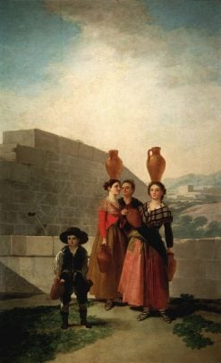 The Water Carriers | Francisco de Goya y Lucientes | Oil Painting