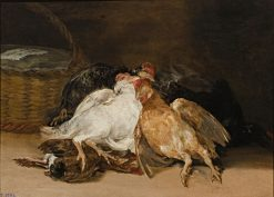 Dead Birds | Francisco de Goya y Lucientes | Oil Painting