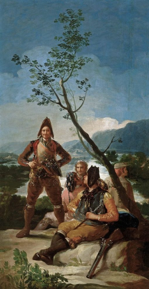 The Smokers | Francisco de Goya y Lucientes | Oil Painting