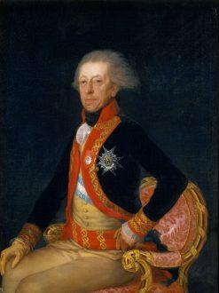 General Antonio Ricardos | Francisco de Goya y Lucientes | Oil Painting