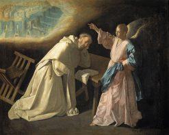 Vision of Saint Peter Nolasco | Francisco de Zurbaran | Oil Painting