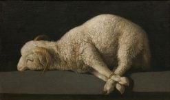 Agnus Dei (the Lamb of God) | Francisco de Zurbaran | Oil Painting