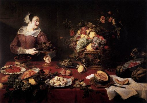 The Fruit Basket | Frans Snyders | Oil Painting