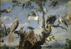 Concert of Birds (II) | Frans Snyders | Oil Painting
