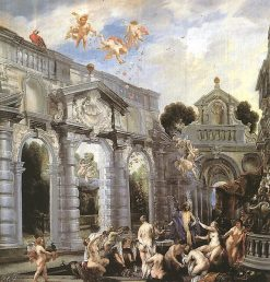 Nymphs at the Fountain of Love | Jacob Jordaens | Oil Painting