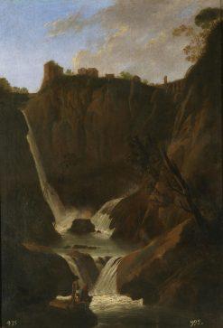 View of the Waterfall at Tivoli