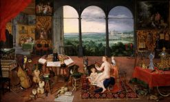 Allegory of Hearing | Jan Brueghel the Elder | Oil Painting