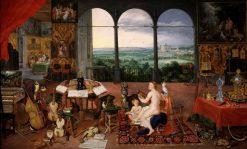 Allegory of Hearing | Jan Brueghel the Elder | Oil Painting