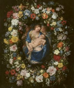 Garland with the Virgin