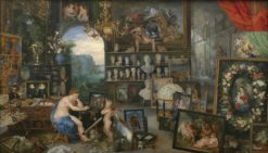Allegory of Sight | Jan Brueghel the Elder | Oil Painting