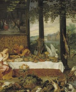 Allegory of Taste | Jan Brueghel the Elder | Oil Painting