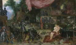 An Allegory of Touch | Jan Brueghel the Elder | Oil Painting