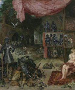 An Allegory of Touch   Jan Brueghel the Elder   Oil Painting