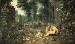 An Allegory of Smell | Jan Brueghel the Elder | Oil Painting