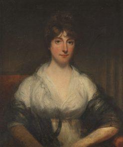 Portrait of Mrs Thornton | John Hoppner | Oil Painting