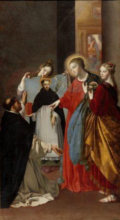 Santo Domingo Soriano | Juan Bautista Maino | Oil Painting