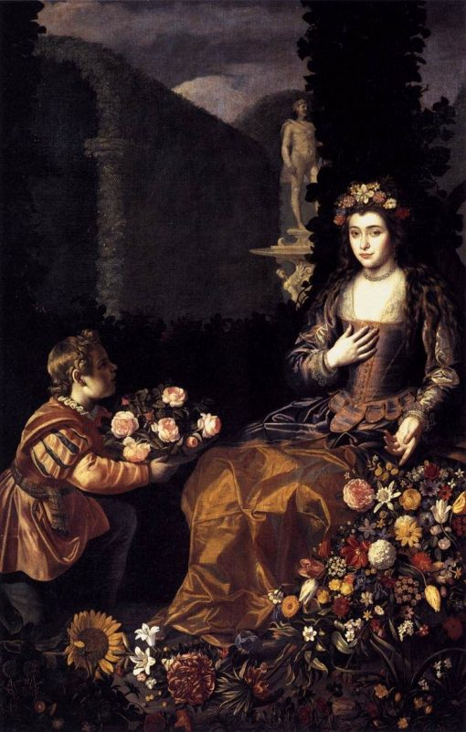 An Offering to Flora | Juan van der Hamen | Oil Painting