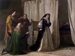 The Madness of Juana of Castile | Lorenzo Valles | Oil Painting