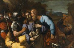 The Judas Kiss | Luca Giordano | Oil Painting