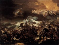 The Defeat of Sisera | Luca Giordano | Oil Painting