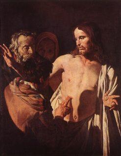 The Incredulity of Saint Thomas | Matthias Stomer | Oil Painting