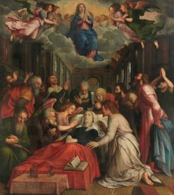 The Presentation of the Virgin   Michiel Coxie   Oil Painting