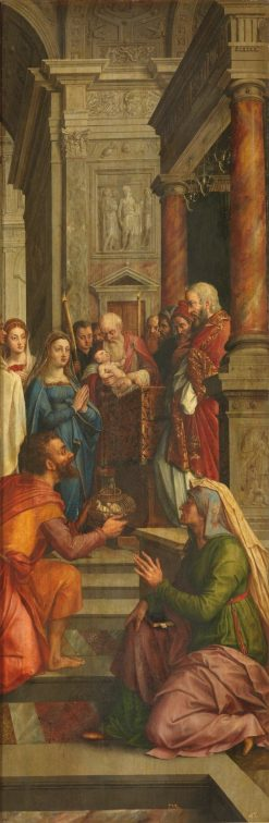 The Presentation of the Virgin at the Temple | Michiel Coxie | Oil Painting