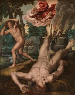 The Death of Abel | Michiel Coxie | Oil Painting