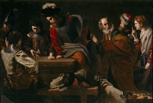 Denial of Saint Peter | Nicolas Tournier | Oil Painting