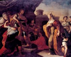 Solomon and the Queen of Sheba | Paolo de' Matteis | Oil Painting