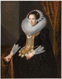 Johanna Martens | Paulus Moreelse | Oil Painting