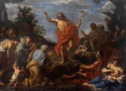The Preachings of Saint the the Baptist | Pier Francesco Mola | Oil Painting