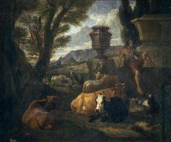 Roman Landscape | Pieter van Bloemen | Oil Painting