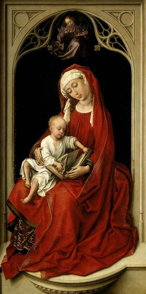 Virgin and Child(also known as Duran Madonna) | Rogier van der Weyden | Oil Painting