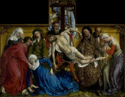 The Descent from the Cross | Rogier van der Weyden | Oil Painting
