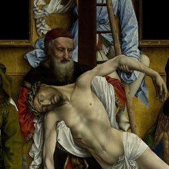 The Descent from the Cross (detail) | Rogier van der Weyden | Oil Painting