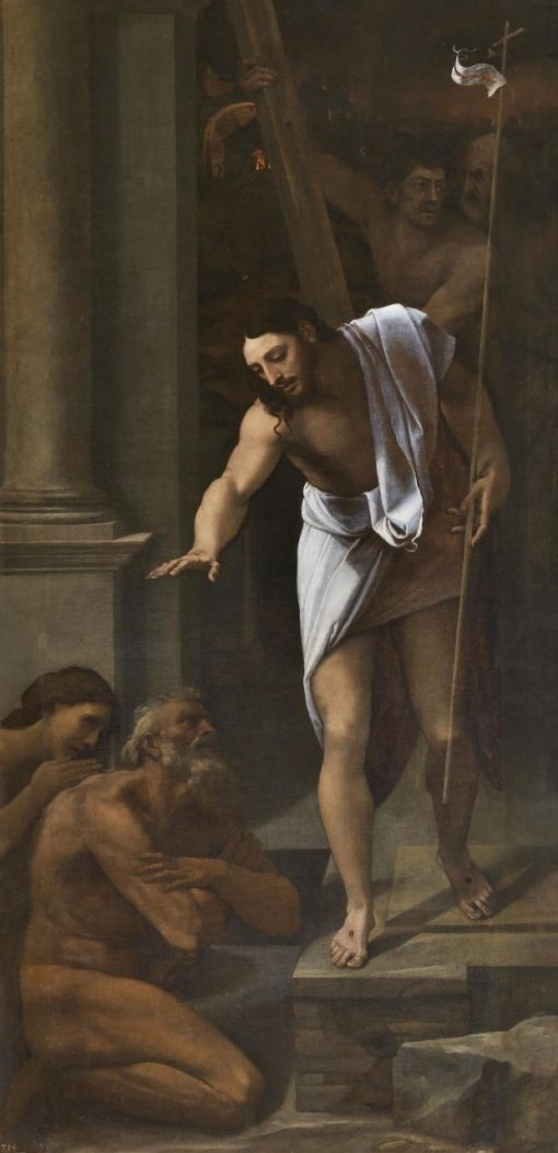 Christ's Descent into Limbo | Sebastiano del Piombo | Oil Painting