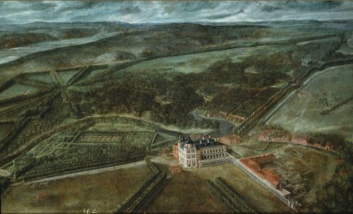 View of the Royal Site of Aranjuez | Spanish School th Century   Unknown | Oil Painting