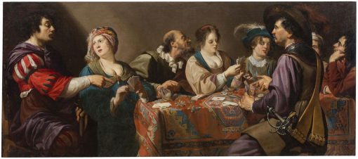 Game of Cards | ThEodore Rombouts | Oil Painting