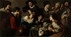 El charlatan sacamuelas (A Troupe of Travelling Performers