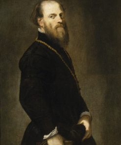 Knight with a Golden Chain | Tintoretto | Oil Painting