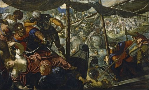 The Rape of Helen | Tintoretto | Oil Painting