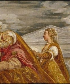 The Queen of Sheba and Solomon | Tintoretto | Oil Painting