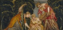 Moses Saved from the Waters | Tintoretto | Oil Painting